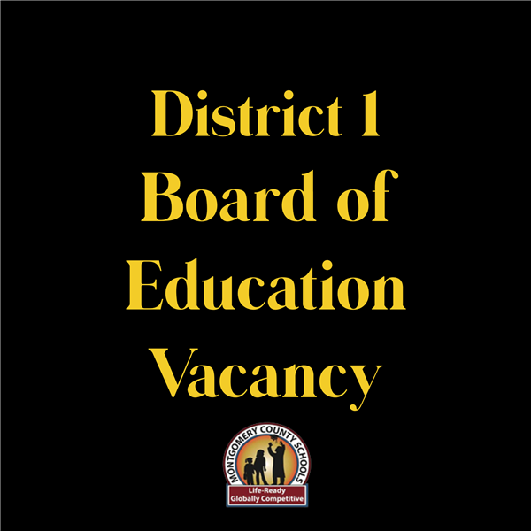 Application for Vacant Board of Education Seat