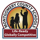 MCS Logo with a silhouette of students and Life Ready, Globally Competitive