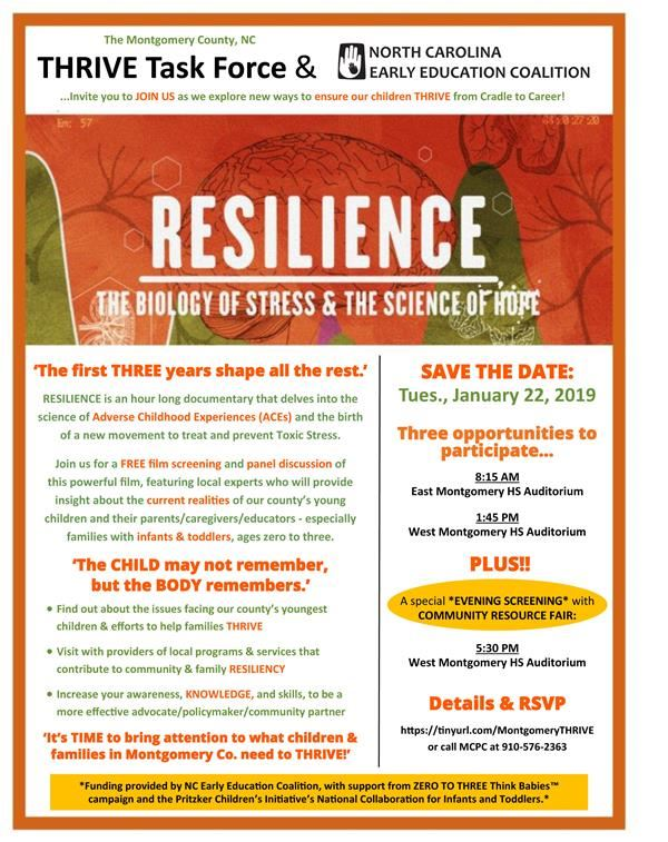 Resilience Film Screening and Panel Discussion