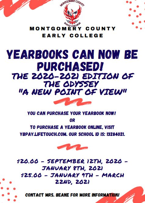 2020-2021 Yearbook for Sale