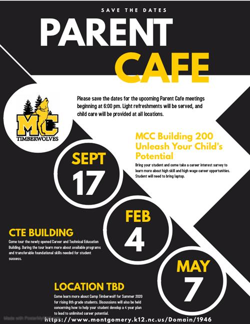 2019 Parent Cafe