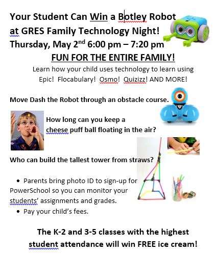Technology Night Flier