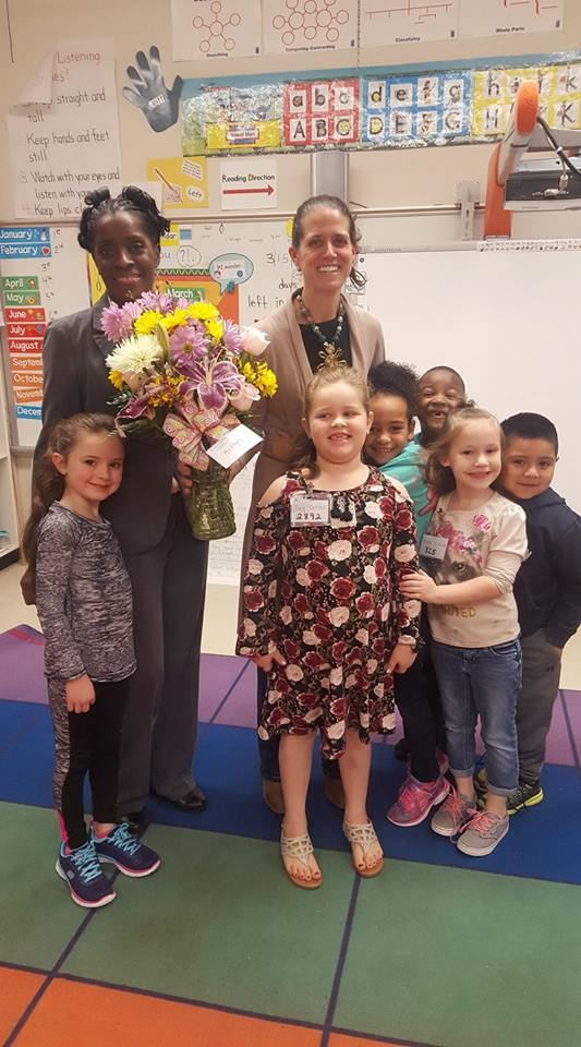 Congratulations to Amy Ellington, TES Teacher of the Year 2017-2018!