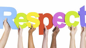 Respect is our September Word of the Month