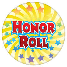 First Semester Honor Roll Students