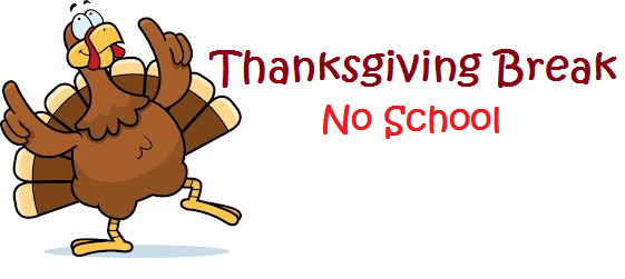 EMS will be closed for the Thanksgiving holiday November 22 through November 26.