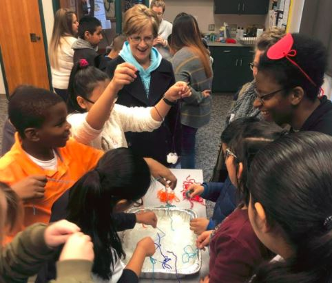 "Our CES STEM Club enjoyed a Saturday morning field trip to study ""Amazing Ice""! They studied the changes in ice, went ice fishing, and explored how blubber helps animals stay warm."
