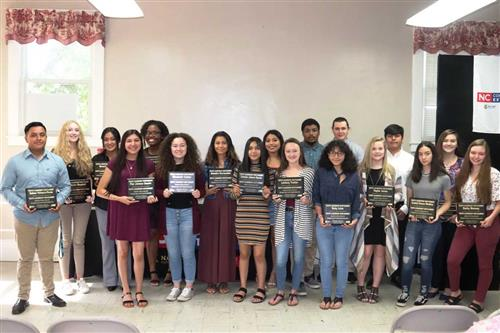 AVID students graduating from Youth Leadership Montgomery