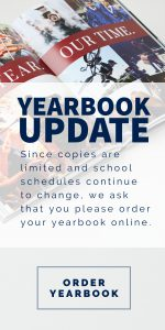 Order Your Yearbooks NOW!!!