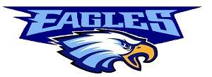 eaglesEagle Head Logo Blue